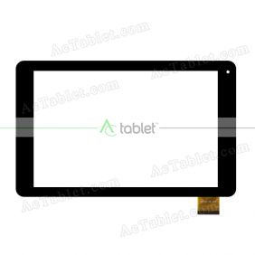 YDT1463-A0 Digitizer Glass Touch Screen Replacement for 10.1 Inch MID Tablet PC