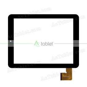 DE-ESR001032 Digitizer Glass Touch Screen Replacement for 8 Inch MID Tablet PC