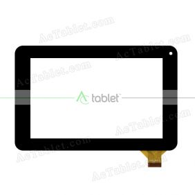 NJG070069AE0B-V1 Digitizer Glass Touch Screen Replacement for 7 Inch MID Tablet PC