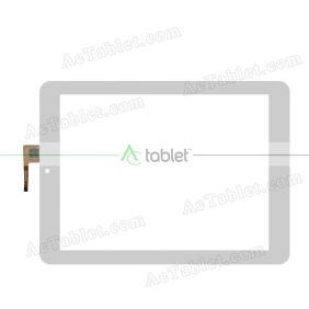 100-097F-1270 Digitizer Glass Touch Screen Replacement for 9.7 Inch MID Tablet PC