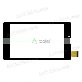 WJ1310-FPC V1.0 Digitizer Glass Touch Screen Replacement for 7 Inch MID Tablet PC