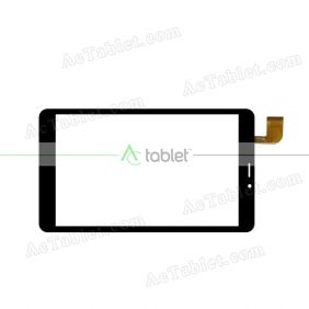 WJ1312-FPC-V1.0 Digitizer Glass Touch Screen Replacement for 8 Inch MID Tablet PC