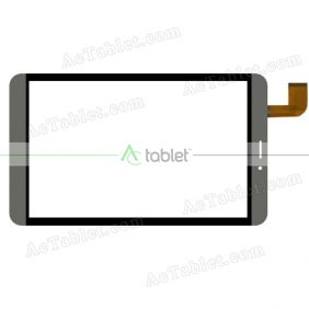 RP-451A-8.0-FPC-A2 Digitizer Glass Touch Screen Replacement for 8 Inch MID Tablet PC