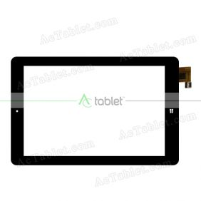 YDT1375-A0 Digitizer Glass Touch Screen Replacement for 9 Inch MID Tablet PC