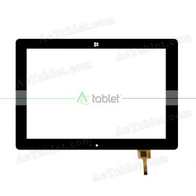 YDT1442-A0 Digitizer Glass Touch Screen Replacement for 10.1 Inch MID Tablet PC