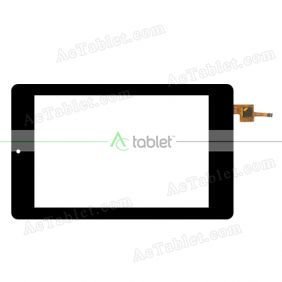 070589-01A-V2 Digitizer Glass Touch Screen Replacement for 7 Inch MID Tablet PC