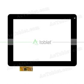 300-L4324A-A00 Digitizer Glass Touch Screen Replacement for 9.7 Inch MID Tablet PC
