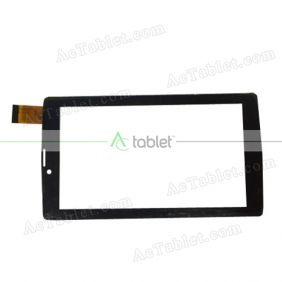 1727 FPC Digitizer Glass Touch Screen Replacement for 7 Inch MID Tablet PC