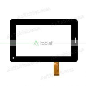 FHF070074 Digitizer Glass Touch Screen Replacement for 7 Inch MID Tablet PC