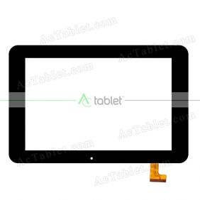 SG5361A-FPC-V1 Digitizer Glass Touch Screen Replacement for 10.1 Inch MID Tablet PC