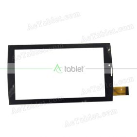 ZYD070-192V01 Digitizer Glass Touch Screen Replacement for 7 Inch MID Tablet PC