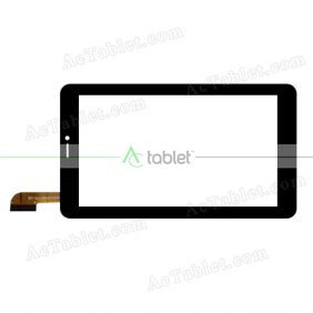 CN020C0700-FPC-V0 Digitizer Glass Touch Screen Replacement for 7 Inch MID Tablet PC
