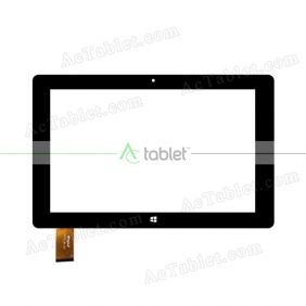 WJ772-FPC V2.0 Digitizer Glass Touch Screen Replacement for 10.1 Inch MID Tablet PC
