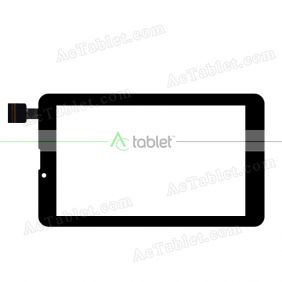 1705 FPC Digitizer Glass Touch Screen Replacement for 7 Inch MID Tablet PC