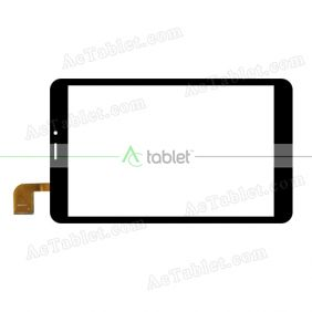 DS8P0118_V2 Digitizer Glass Touch Screen Replacement for 8 Inch MID Tablet PC