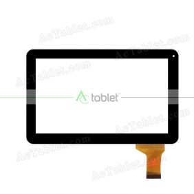 JQ10006FPC Digitizer Glass Touch Screen Replacement for 10.1 Inch MID Tablet PC