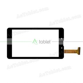 CN030C0610-FPC-A0 Digitizer Glass Touch Screen Replacement for 6 Inch MID Tablet PC