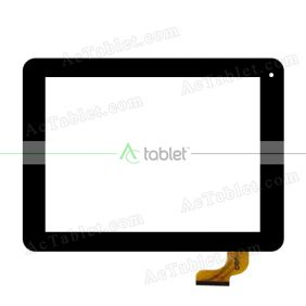 BL-1100 V2 Digitizer Glass Touch Screen Replacement for 8 Inch MID Tablet PC