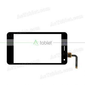 HW-243 V1.0 20150304 XD Digitizer Glass Touch Screen Replacement for Android Phone