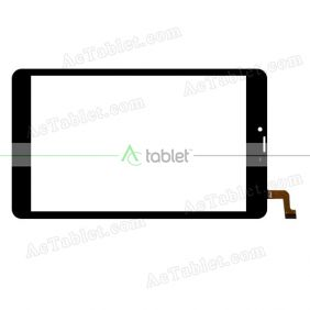 1726 FPC Digitizer Glass Touch Screen Replacement for 7.9 Inch MID Tablet PC
