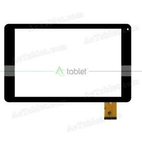 YLD-CEGA1088B01-FPC-A0 Digitizer Glass Touch Screen Replacement for 10.1 Inch MID Tablet PC