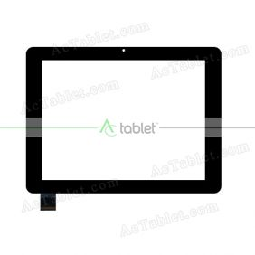 F-WGJ97108-V1 Digitizer Glass Touch Screen Replacement for 9.7 Inch MID Tablet PC