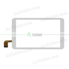 FPC-F080J196-00 Digitizer Glass Touch Screen Replacement for 8 Inch MID Tablet PC