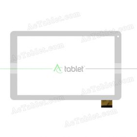MF-858-101F Digitizer Glass Touch Screen Replacement for 10.1 Inch MID Tablet PC