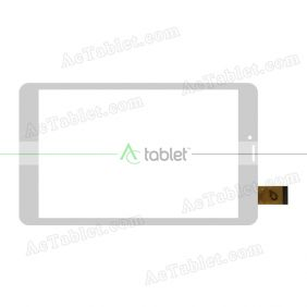 MF-893-080F FPC Digitizer Glass Touch Screen Replacement for 8 Inch MID Tablet PC