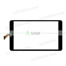 MF-827-080F Digitizer Glass Touch Screen Replacement for 8 Inch MID Tablet PC