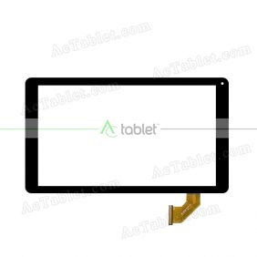 DH-1043A1-FPC152-V2.0 Digitizer Glass Touch Screen Replacement for 9 Inch MID Tablet PC