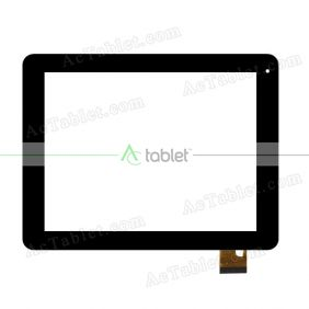 TOPSUN_D0047_A1 Digitizer Glass Touch Screen Replacement for 8 Inch MID Tablet PC
