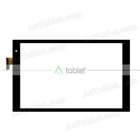 CN122FPC-V0 Digitizer Glass Touch Screen Replacement for 10.1 Inch MID Tablet PC