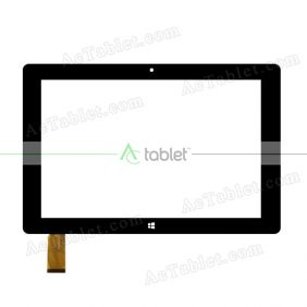 CN087FPC-V0 Digitizer Glass Touch Screen Replacement for 10.1 Inch MID Tablet PC