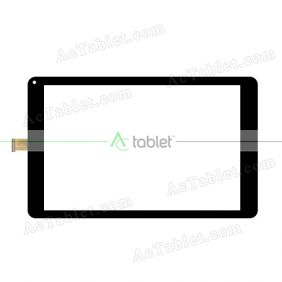 CN128FPC-V0 Digitizer Glass Touch Screen Replacement for 10.1 Inch MID Tablet PC