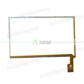 TPC0192 VER1.0 Digitizer Glass Touch Screen Replacement for 7 Inch MID Tablet PC