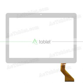 MF-879-101F Digitizer Glass Touch Screen Replacement for 10.1 Inch MID Tablet PC