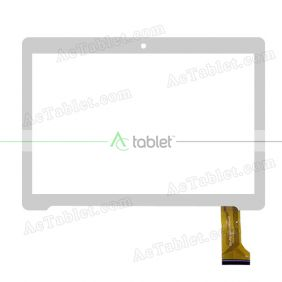 SQ-PG1027-FPC-A0 Digitizer Glass Touch Screen Replacement for 10.1 Inch MID Tablet PC