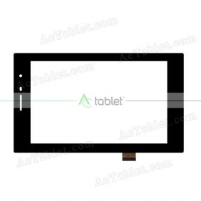 CTP249-070-A V2.0 Digitizer Glass Touch Screen Replacement for 7 Inch MID Tablet PC