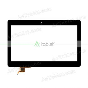 FCC0491-1531 Digitizer Glass Touch Screen Replacement for 10.1 Inch MID Tablet PC
