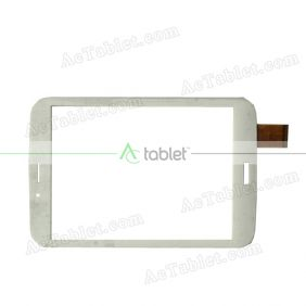 SCF0123-A Digitizer Glass Touch Screen Replacement for 8 Inch MID Tablet PC