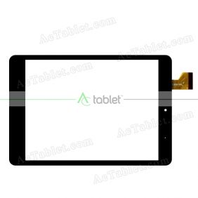 ZCC-2256 FPC Digitizer Glass Touch Screen Replacement for 8 Inch MID Tablet PC