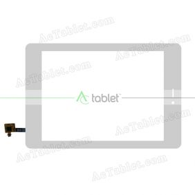 C206143A1-FPC743DR Digitizer Glass Touch Screen Replacement for 8 Inch MID Tablet PC