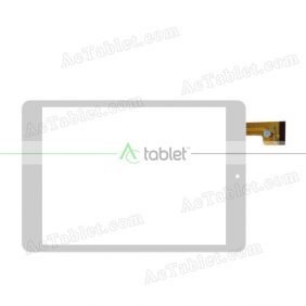 TPC0769 VER4.0 Digitizer Glass Touch Screen Replacement for 7.9 Inch MID Tablet PC