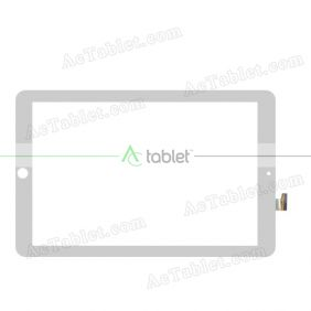 GY-96010A-FPC-A0 Digitizer Glass Touch Screen Replacement for 10.1 Inch MID Tablet PC