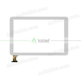 HK101PG3018BA-V01 Digitizer Glass Touch Screen Replacement for 10.1 Inch MID Tablet PC