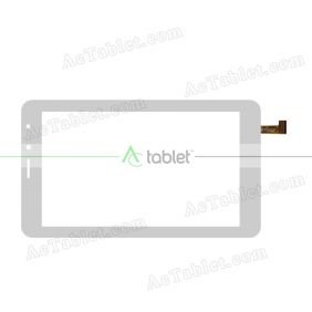 C187104F1-FPC902DR Digitizer Glass Touch Screen Replacement for 7 Inch MID Tablet PC