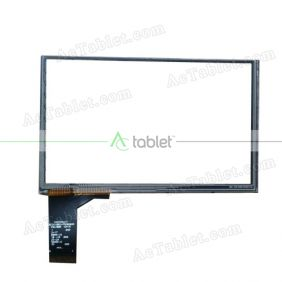 C073118A2-FPC809DR Digitizer Glass Touch Screen Replacement for 5 Inch MID Tablet PC