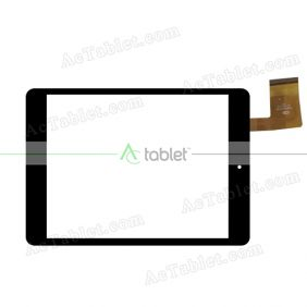 FM802001KA Digitizer Glass Touch Screen Replacement for 8 Inch MID Tablet PC