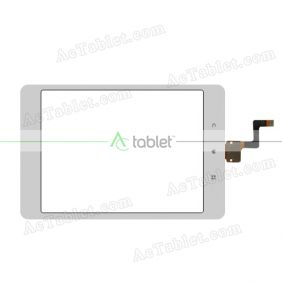 T451 VER1.2 Digitizer Glass Touch Screen Replacement for 7.9 Inch MID Tablet PC